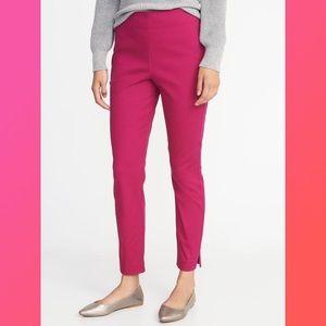 Old Navy side-zip pants in pink